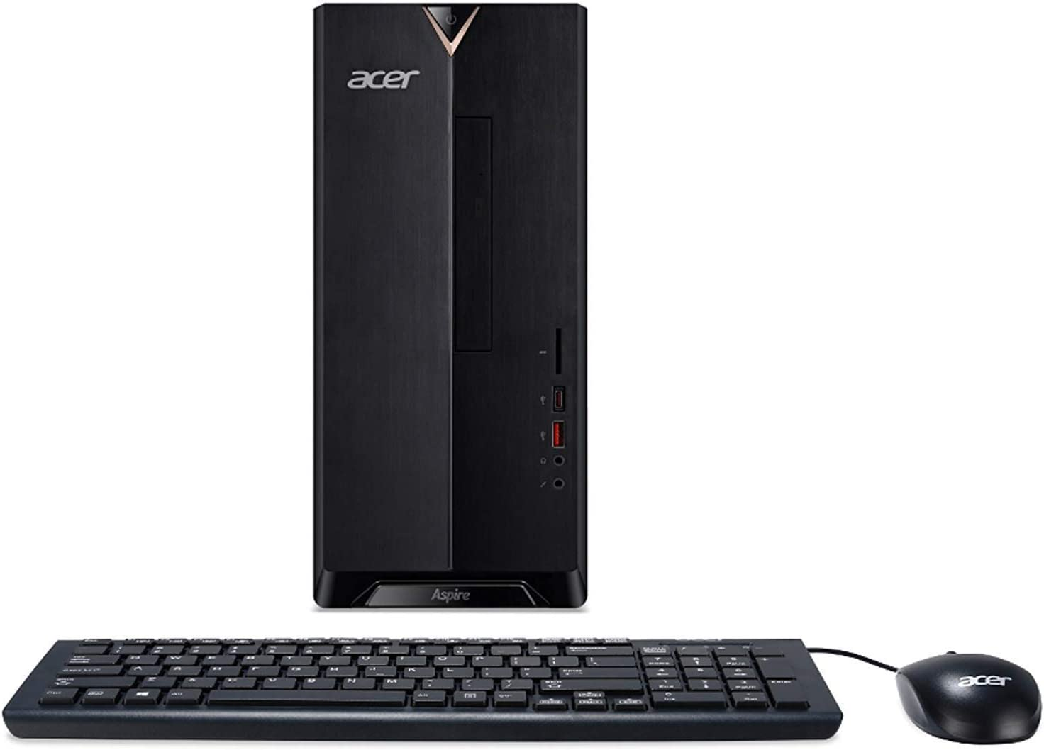 Acer Aspire TC-885 Desktop, 8th Gen Intel Core i5-8400, 8GB DDR4 + 16GB Optane Memory, 2TB HDD, 8X DVD, 802.11ac WiFi, Windows 10 Home (Renewed)