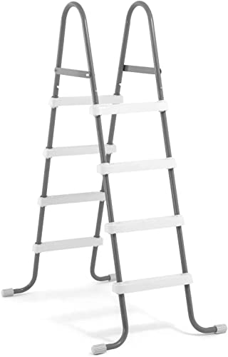 Intex-Steel-Frame-Above-Ground-Swimming-Pool-Ladder-for-48-Inch-High-Wall-Pools
