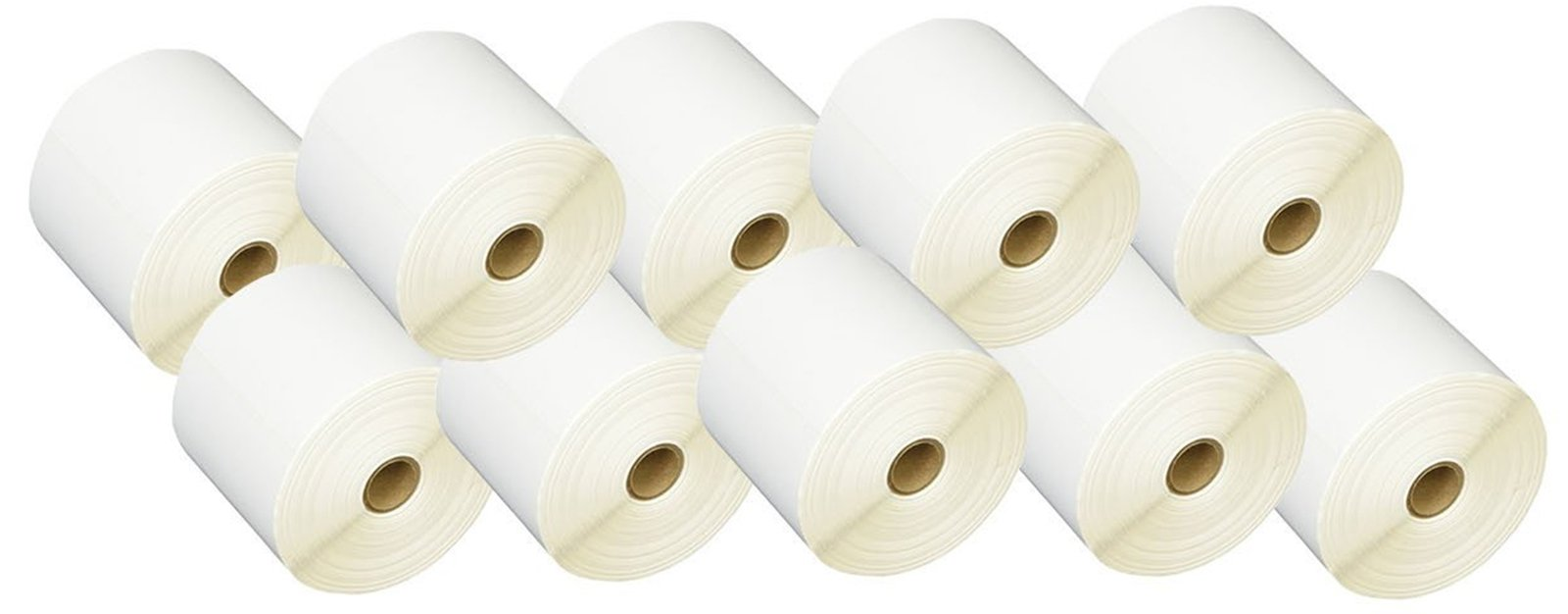iMBAPrice 10 Rolls of 450 Label 4x6 Direct Thermal Shipping Labels Perfect for 1'' CORE THERMAL LASER PRINTERS