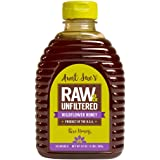 Aunt Sue's Raw & Unfiltered USA Wildflower Honey, 2 Pounds