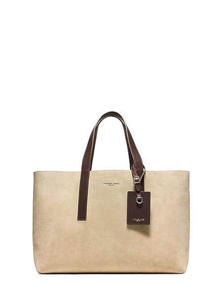 bfa0fe3c30f9 MICHAEL KORS MEN S Reversible Mason Tote Bag Large Denim To Soft Suede   Amazon.co.uk  Clothing