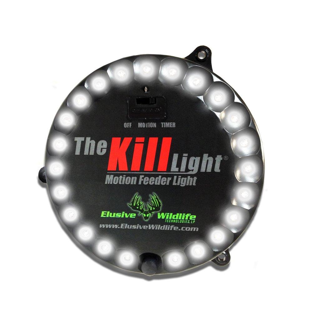 Elusive Wildlife The Kill Light Motion Activated Feeder Light - White by Elusive Wildlife
