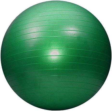 Fitness Ball 52 cm (Balón hinchable para ejercicios) verde ...