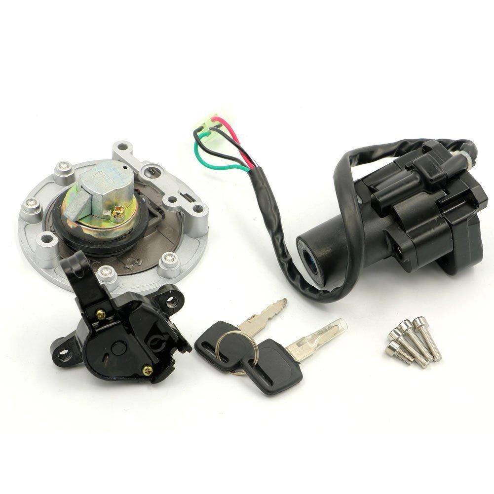 YZF600 R6 1995-2003 Alpha Rider Ignition Switch Lock Fuel Gas Cap Cover Keys Set For Yamaha YZF1000 R1 1997-1998