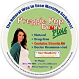 Preggie Pop Drops Plus | 21 Drops | Vitamin B6 for Morning Sickness & Nausea Relief during pregnancy | Safe for pregnant…