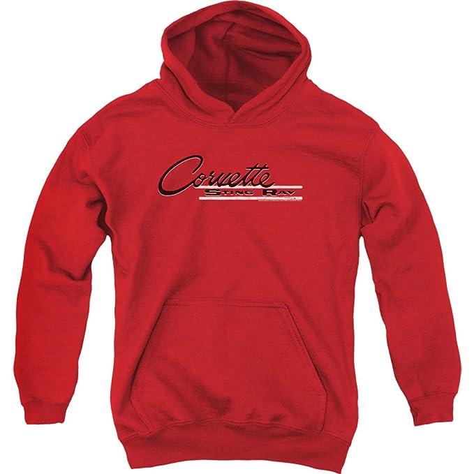 Chevrolet Jóvenes picadura hoodiechevyvintage logotipo de rayos suéter con Sudadera para hombre: Amazon.es: Ropa y accesorios