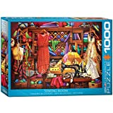 jigsaw puzzles sewing - EuroGraphics Sewing Craft Room 1000-Piece Puzzle Jigsaw (1000 Piece)