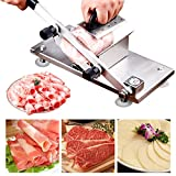 Manual Control Frozen Meat Slicer Cutting Stainless Steel Carbon...
