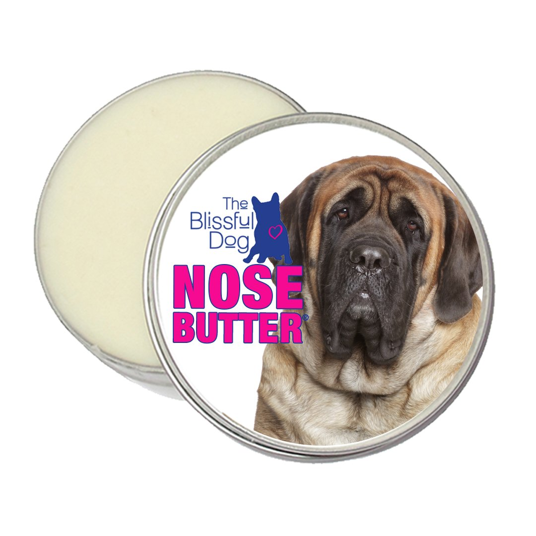 The Blissful Dog Mastiff Nose Butter, 4-Ounce