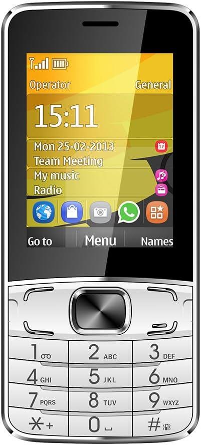 Kivors T3 Smartphone, Dual SIM, con teclas iluminadas y ranura ...