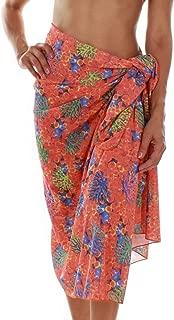 product image for Tan Through Orange Fiji Pareo