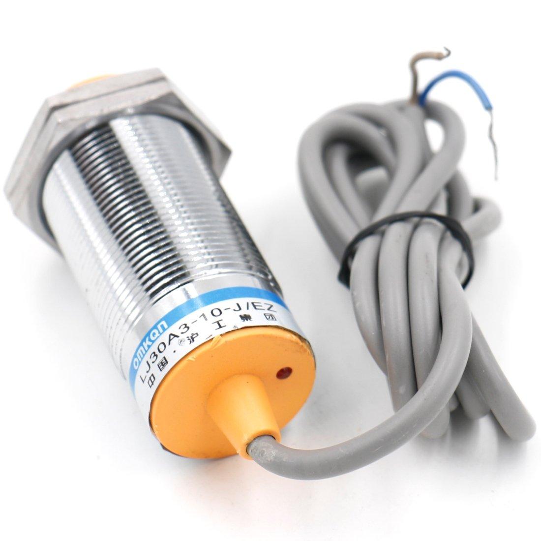 heschen Sensor de proximidad inductivos interruptor LJ30 A3 - 10-J/EZ detector 10 mm 90 - 250 VAC 400 mA NO Normalmente Abierto (alambre de) 2: Amazon.es: ...