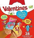 Toys : Peaceable Kingdom 28 Card Cootie Catcher Valentines with Envelopes