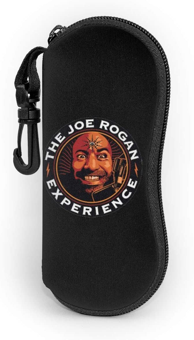TIMMEAGE The Joe Rogan Experience Sunglasses Soft Case Ultra Light Neoprene Zipper Eyeglass Case