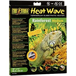 Exo Terra Heatwave Rainforest, 8-Watt/110-Volt, 10 by 11-Inch
