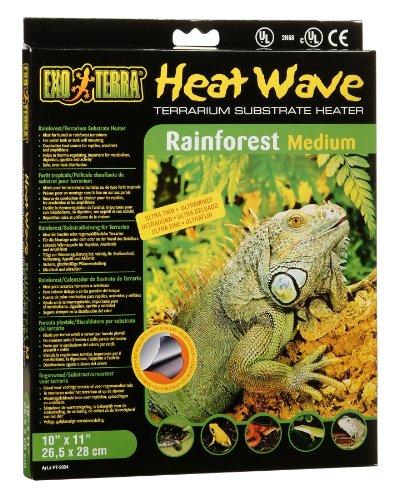 Exo Terra Heatwave Rainforest, 8-Watt/110-Volt, 10 by (Reptile Heat Wave Heater)