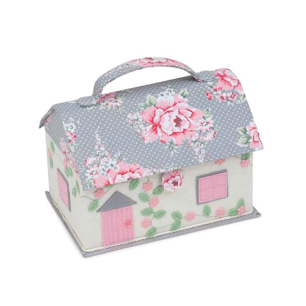 HobbyGift Classic Cottage Sewing Box Beautiful Bloom