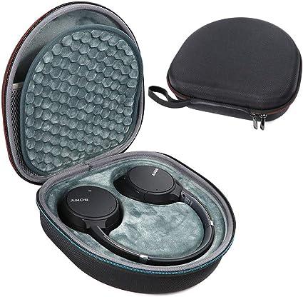 Estuche Rígido para Sony WH-CH700N Auriculares Inalámbricos con Cancelación de Ruido Bluetooth Bolsa de Viaje Caja de Almacenamiento Protectora: Amazon.es: Electrónica