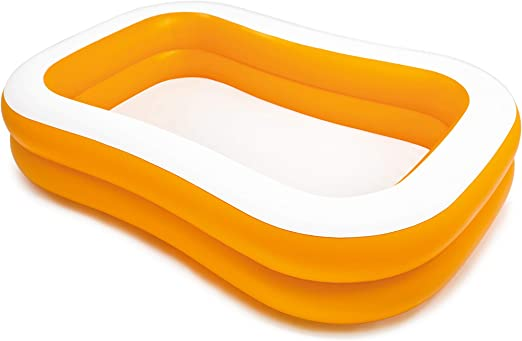 Intex 57181NP - Piscina hinchable rectangular 229 x 147 x 46 cm, 600 litros: Amazon.es: Hogar