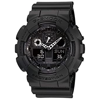 9bd22ec393a5 Buy Casio G-Shock Analog-Digital Black Dial Men's Watch - GA-100 ...