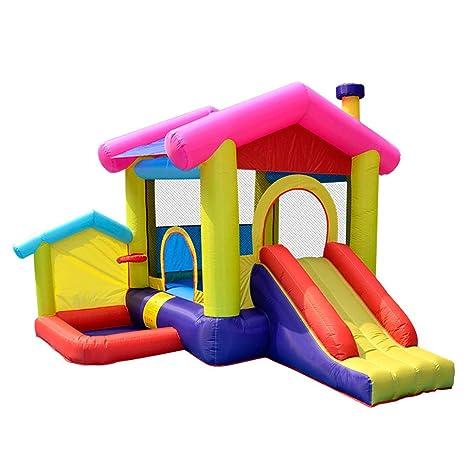 XGYUII Niños Bouncy Castle Tobogán acuático Bouncer House ...