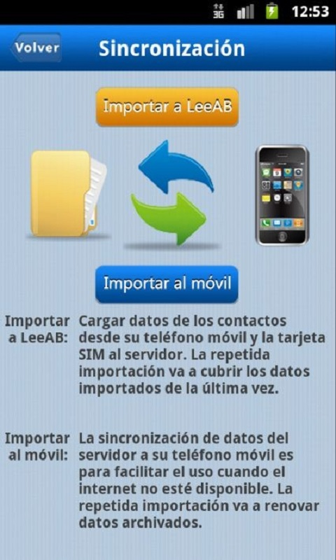 Amazon.com: LeeAB Contactos: Appstore for Android