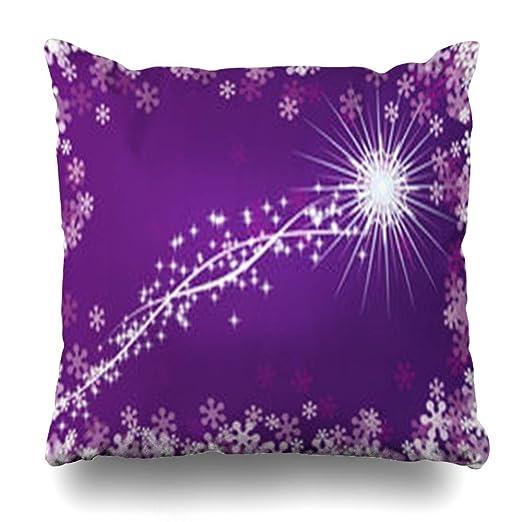 Funda de almohada NOWCustom, diseño clásico de cuernos de Santa ...