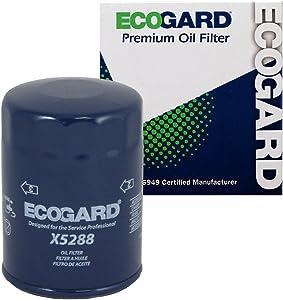 ECOGARD X5288 Premium Spin-On Engine Oil Filter for Conventional Oil Fits Isuzu Ascender 4.2L 2003-2008, i-350 3.5L 2006, i-370 3.7L 2007   Jeep CJ7 4.2L 1982-1986, Scrambler 4.2L 1982-1985
