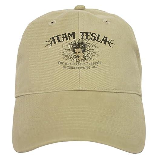 db0b8c68 CafePress - Tesla-Static-LTT Baseball - Baseball Cap with Adjustable  Closure, Unique