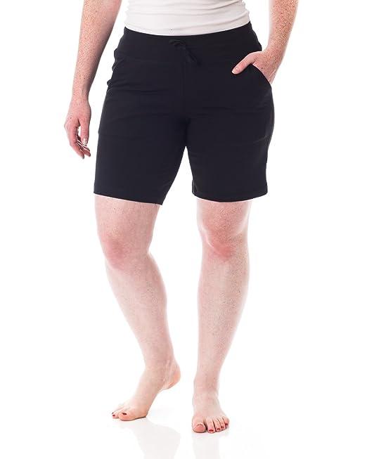 'i Alki La De Pantalones Mayor Bermuda Cortos Mujer Comodidad Lounge Yyfgvb76