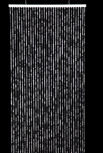 JKK SALE 3 x9 ft Clear Iridescent Faux Crystal Beaded Curtain