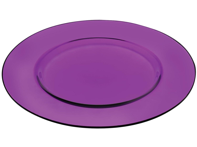 Pasabahce Teller Platzteller Kunst violett cm.35