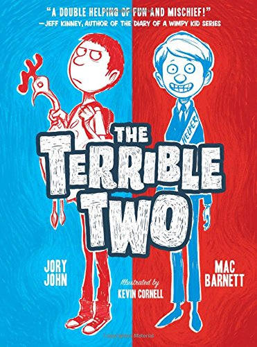 Book cover for The Terrible Two