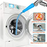 Dryer Vent Cleaner Kit Vacuum Hose Attachment Brush Lint Remover Power Washer and Dryer Vent Vacuum Hose (Blue)