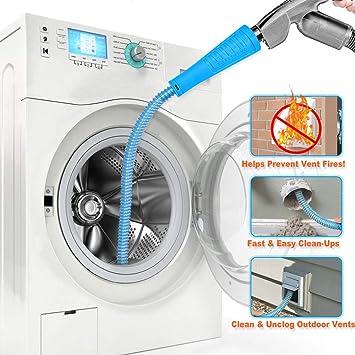 Amazon.com: Kit de aspirador para secadora, manguera de ...