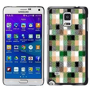 Dragon Case - FOR Samsung Galaxy Note 4 - Colour of the creative - Caja protectora de pl??stico duro de la cubierta Dise?¡Ào Slim Fit