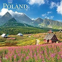Poland 2019 Square Wall Calendar