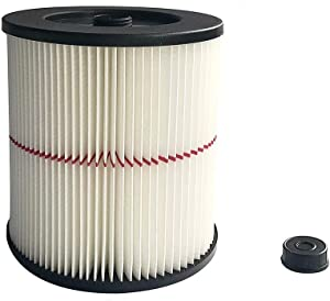 CBT Supply Replacement for Shop Vac Filter 17816 Craftsman Shop Vac Filters Vacuum Cartridge Filter fits for Craftsman 17816 & 9-17816 1 Pack