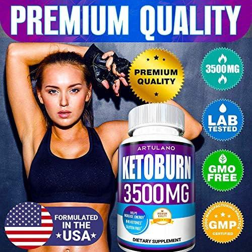 Keto Pills - 5X Potent (2-Pack   3500MG) - Best Keto Burn Diet Pills - Boost Energy and Metabolism - Exogenous Keto BHB Supplement for Women and Men - 180 Capsules 7
