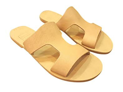9f792d3f62337 Amazon.com: Ancient Greek Style Leather Sandals Roman Handmade ...