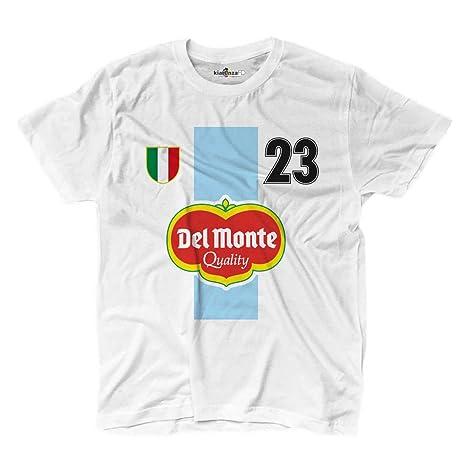 KiarenzaFD Camiseta Camiseta fútbol Vintage Juan Sebastian Lazio 23 Veron Temporada 99 – 00 Le,