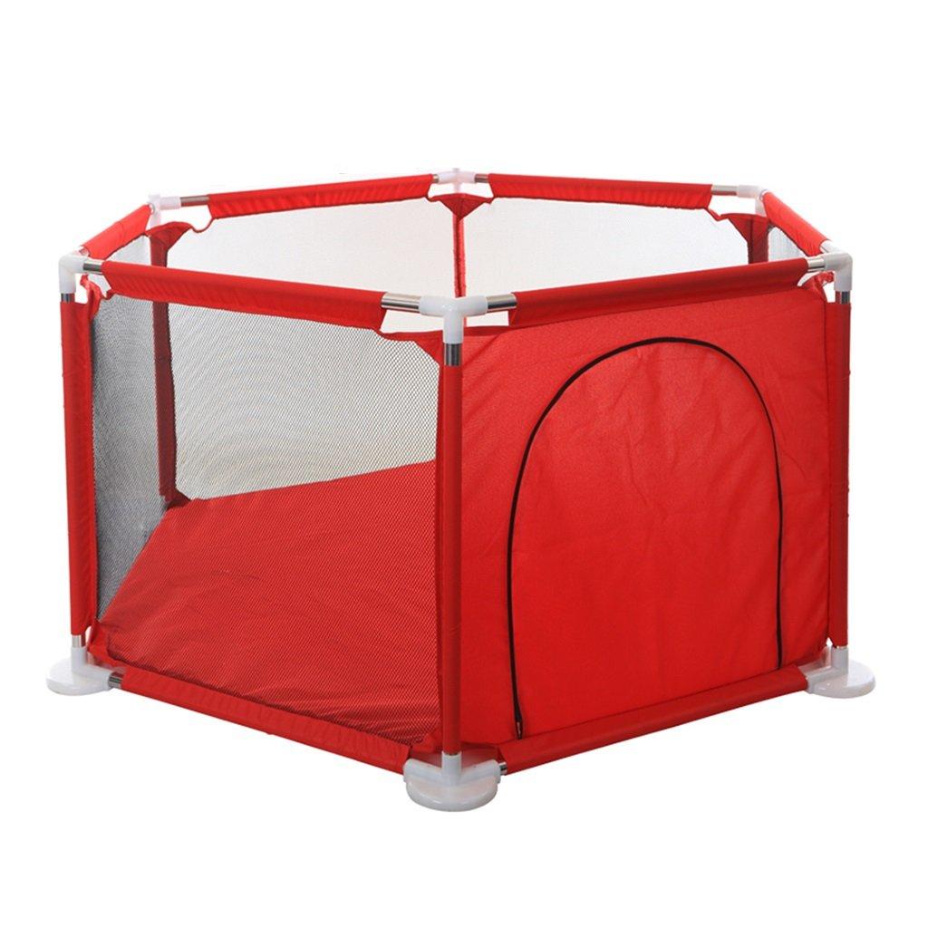 人気激安 赤ちゃんのためのプレイペンズベビープレイフェンスのプレイペンホームベビー幼児のフェンス屋内の遊び場の安全フェンス (Color : 150*65.5cm Red, B07FP7BV1G Size : 150* Size 65.5cm) 150*65.5cm Red B07FP7BV1G, 倉敷の地酒 燦然 -さんぜん-:0e0437f6 --- a0267596.xsph.ru