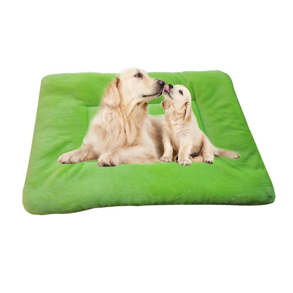 A 63455cm A 63455cm Dixinla Pet Bed Cloth Type Thickening Plush Cushion Kennel Cat Litter Pet mat