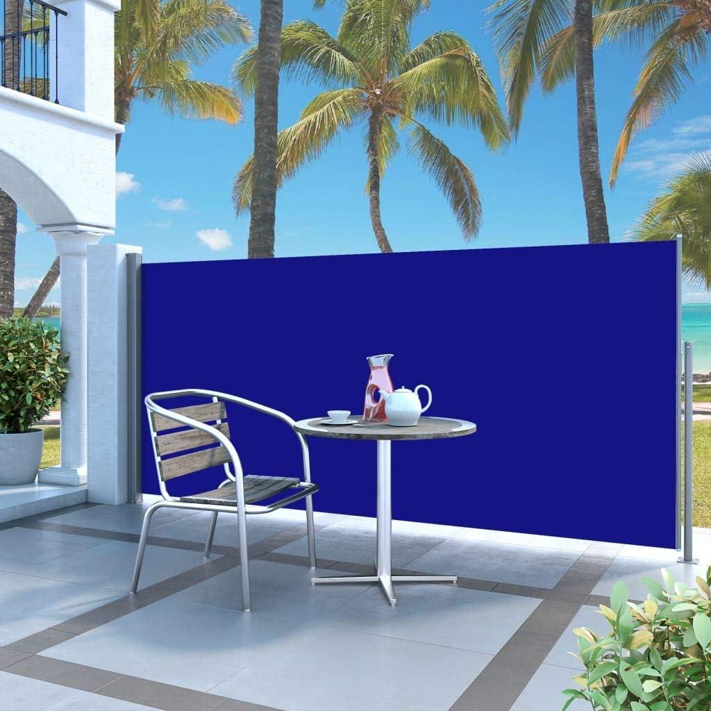 UBAYMAX Tenda Laterale Estensibile,Windscreen per Balcone e Terrazzo,Tenda da Sole Protezione Privacy,Tenda Paravento per Esterno,Tendalino per Patio da Giardino Separatore,100x300 cm,Rossa