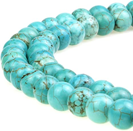 Natural Turquoise 4-12mm Loose Beads DIY Bracelet Necklace Jewelry Findings
