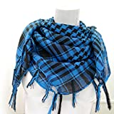 Taruron Woven Scarf 100% Cotton Military Shemagh Multi colors For Men and Women (V1)