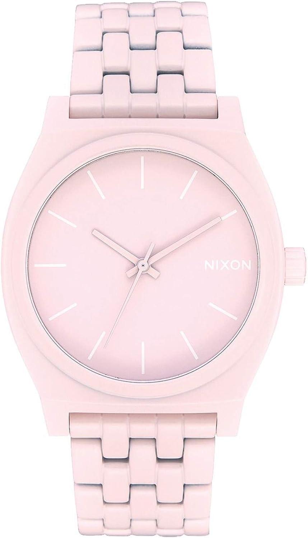 Nixon Time Teller Reloj para Mujer Analógico de Cuarzo japonés con Brazalete de Acero Inoxidable A0453164