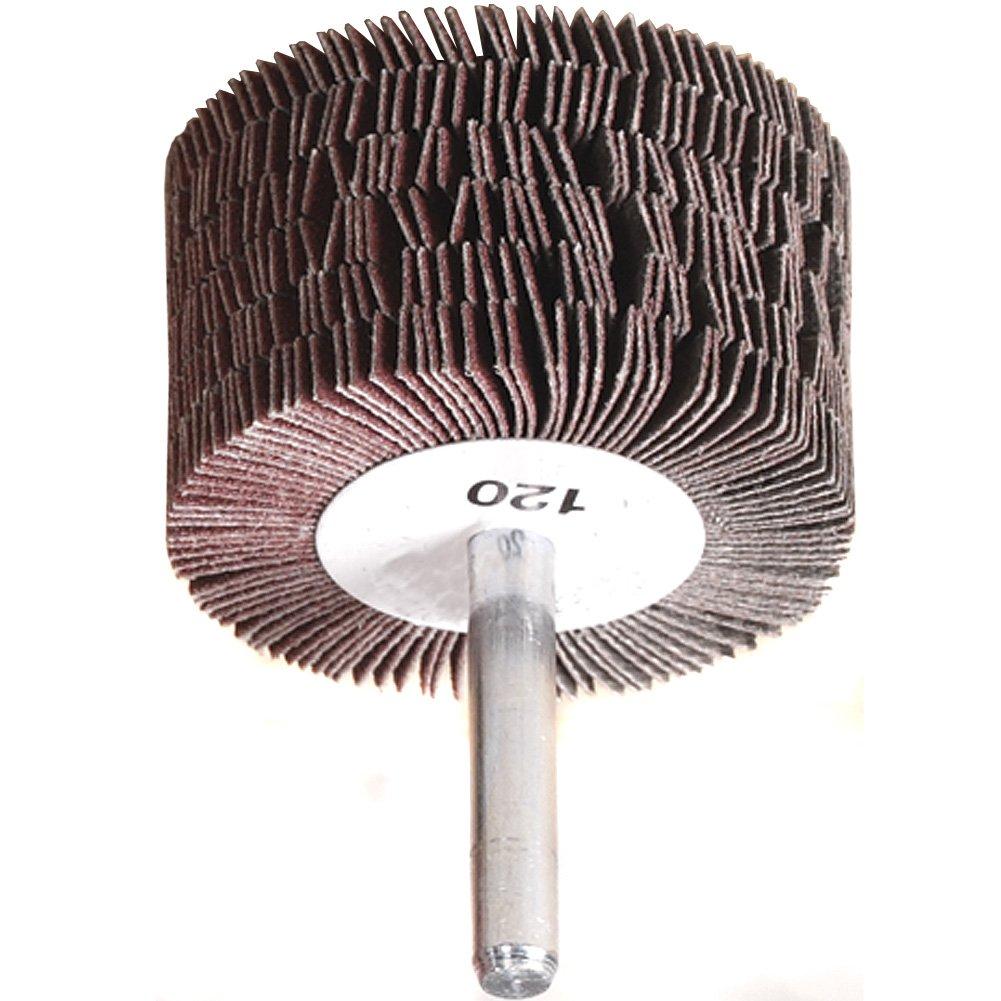 A&H Abrasives 113666, Misc, Flapwheel, 2x1-3/16x1/4'' Aluminum Oxide 120j Flap Mop