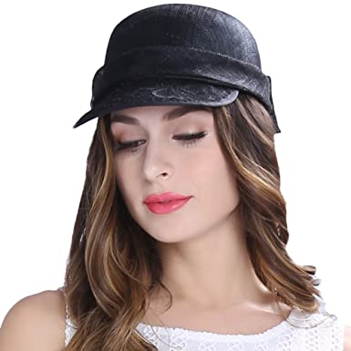 cef84d305933d June s Young Women Hats Black Color Cool Casual Caps at Amazon Women s  Clothing store