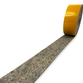 Filzband selbstklebend Breite 100 mm Filzklebeband Meterware Filzstreifen weiss
